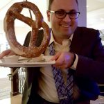 Jared Krukar and Giant Pretzel